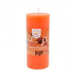 Cinnamon-Orange Tube Candle...