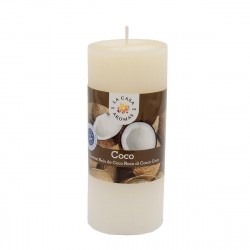 Coconut Tube Candle 400g