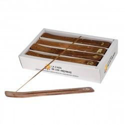 Indian wood incense burner