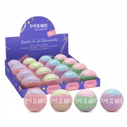Tri-Color Fizzy Bath Bombs