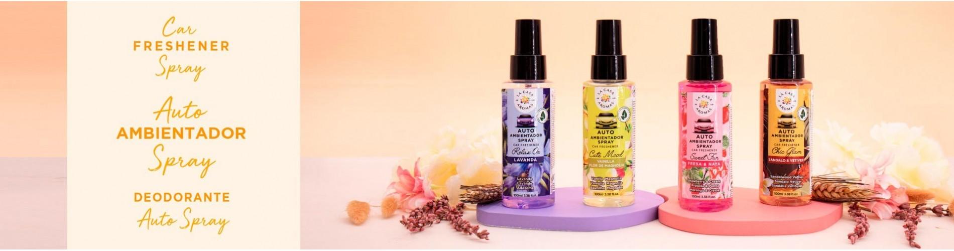 Spray para coche: Conoce el surtido de aromas de La Casa de los Aromas