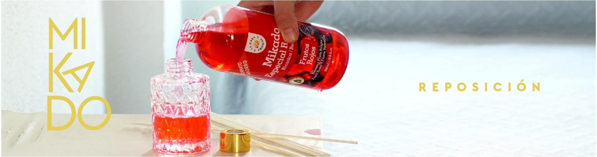 Mikado Reposición: Recarga tus envases con La Casa de los Aromas