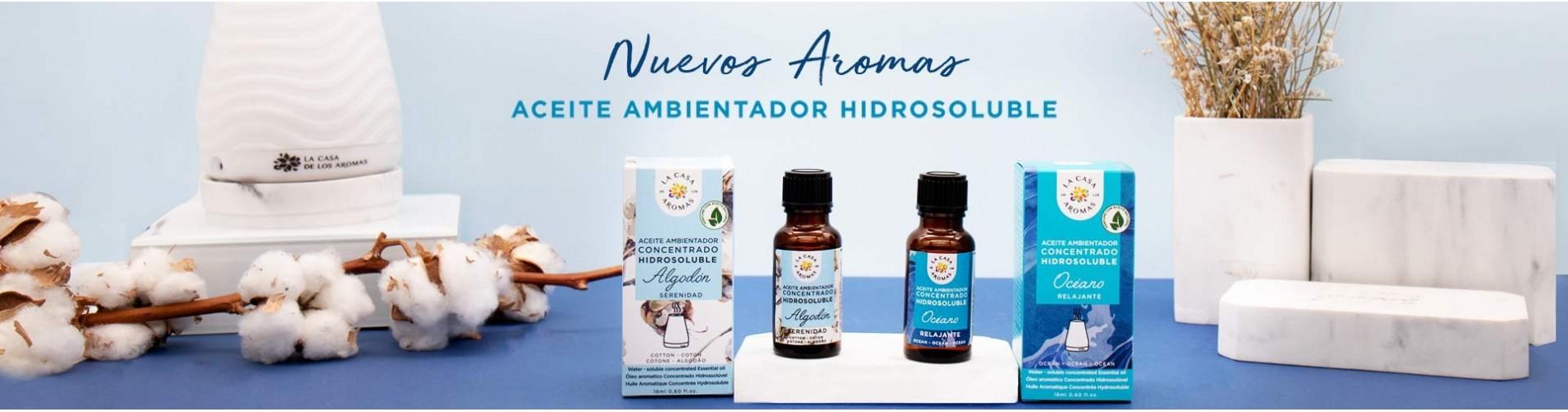 Aceite ambientador hidrosoluble - difusor de aromas