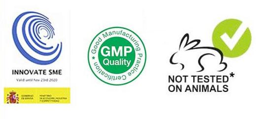 Certificaciones - No testado en animales